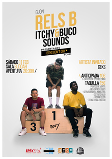 RELS B + Itchy&Buco Sounds @ GIJÓN