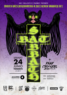 BAT SABBATH (Cancer Bats performing a full Black Sabbath set)
