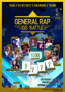 IGS GENERAL RAP BATTLE II