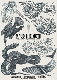 Maud The Moth en sala Clamores