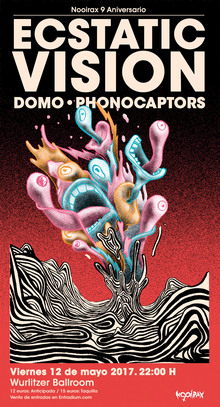 Ecstatic Vision + Domo + Phonocaptors en Madrid
