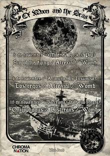 Womb · Atrexial · Sun Of The Dying - Madrid 2017