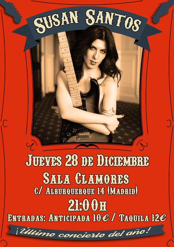 Entradas Para Susan Santos Jueves 28 Diciembre En Madrid