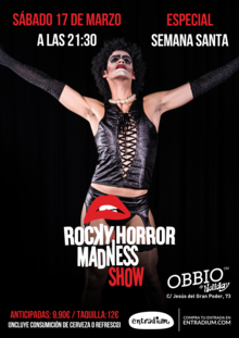 ROCKY HORROR MADNESS SHOW 17 MARZO VOL. 11