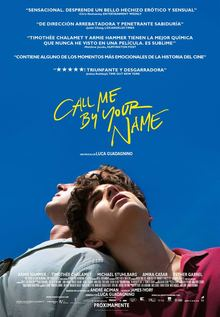 Call me by your name (VOSE)