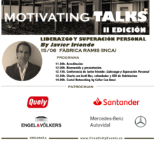 MOTIVATING TALKS by Javier Iriondo