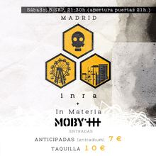 INRA e IN MATERIA en Moby Dick Club